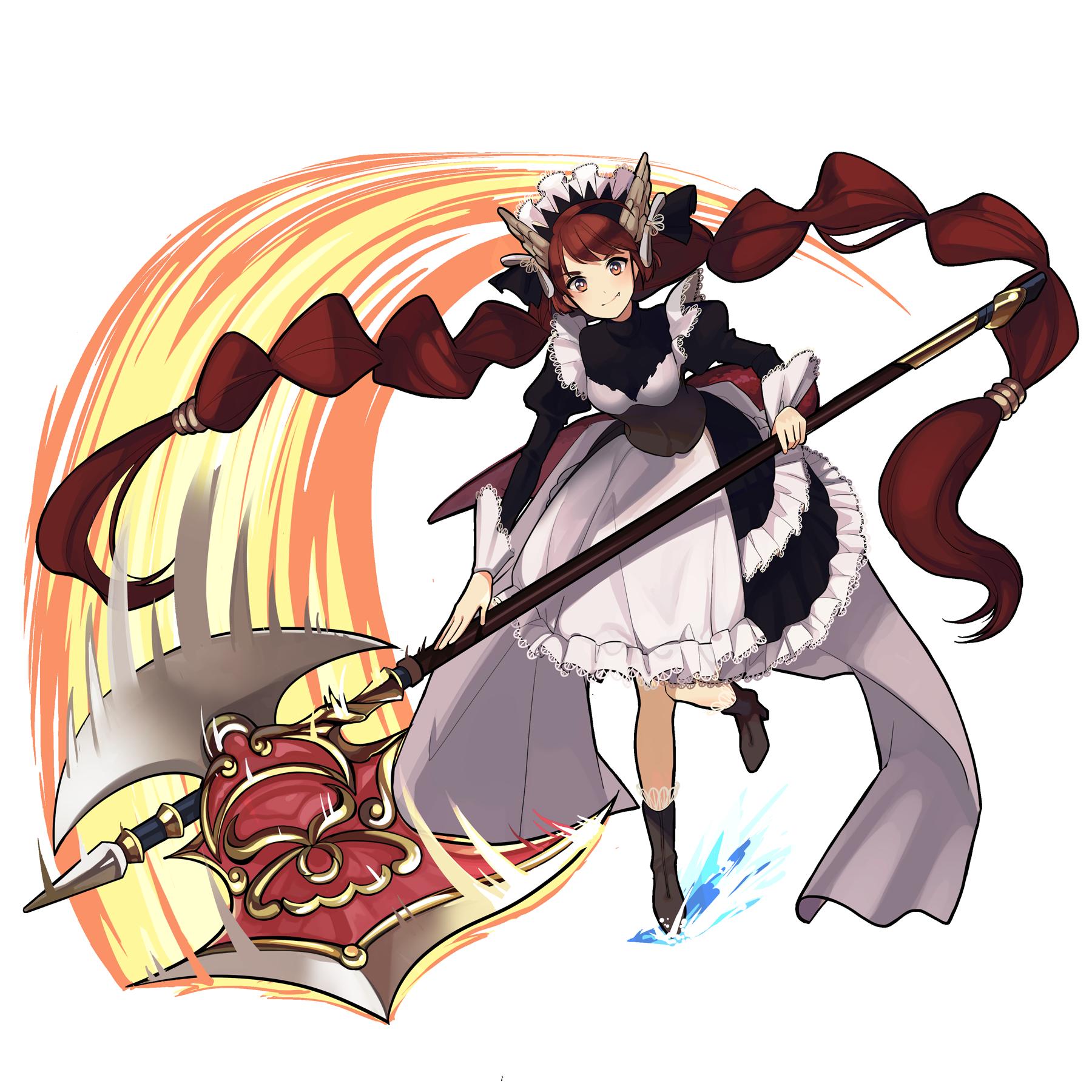 [戦う侍女]ドラゴンメイド
