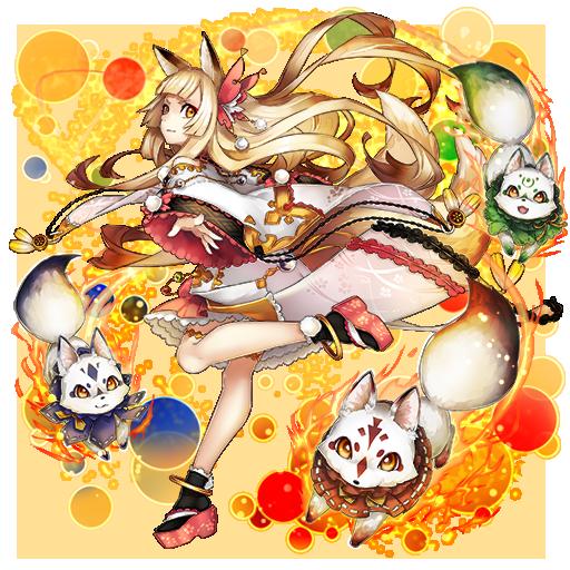 [二尾の狐姫]クイナ