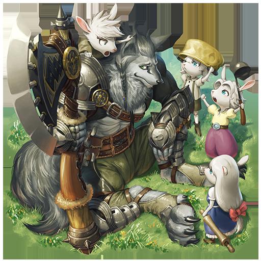 [子守り狼]ヴォルフと子山羊