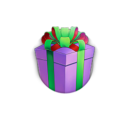 不思議なプレゼント(紫)