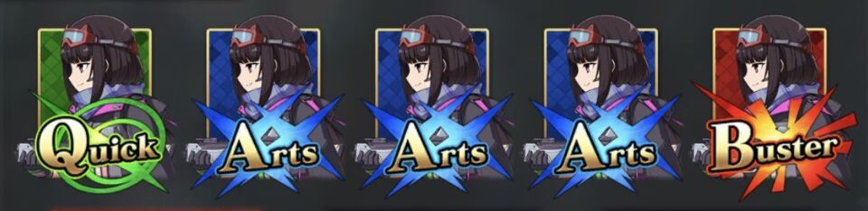 刑部姫(アーチャー)のコマンドカード