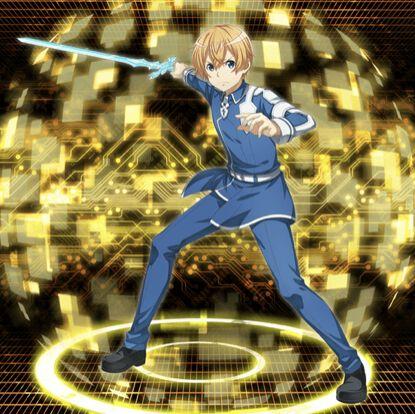 【青薔薇の剣士】ユージオ
