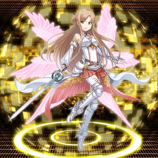 【閃光の聖騎士】アスナ
