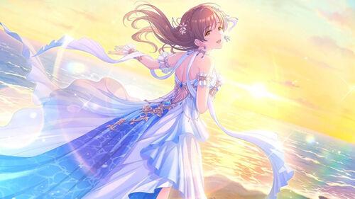 [女神は朝焼けの海に]新田美波
