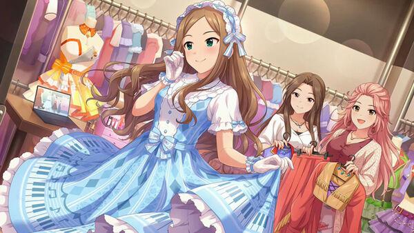 [まとう色、花盛り]松山久美子