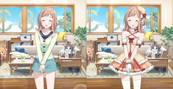 【ナチュラルモード】櫻木真乃の衣装