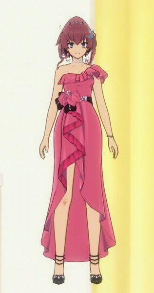 此花寿々花【ドレス】の着せ替え衣装