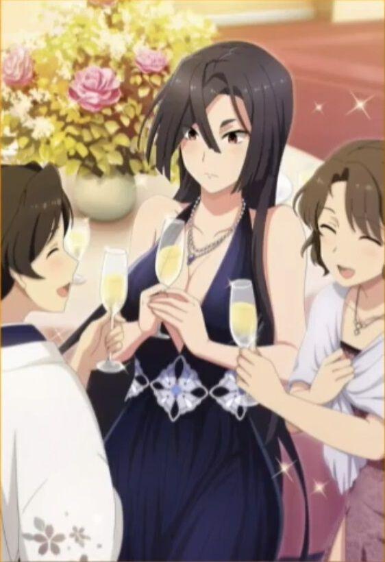 折神紫【ドレス】