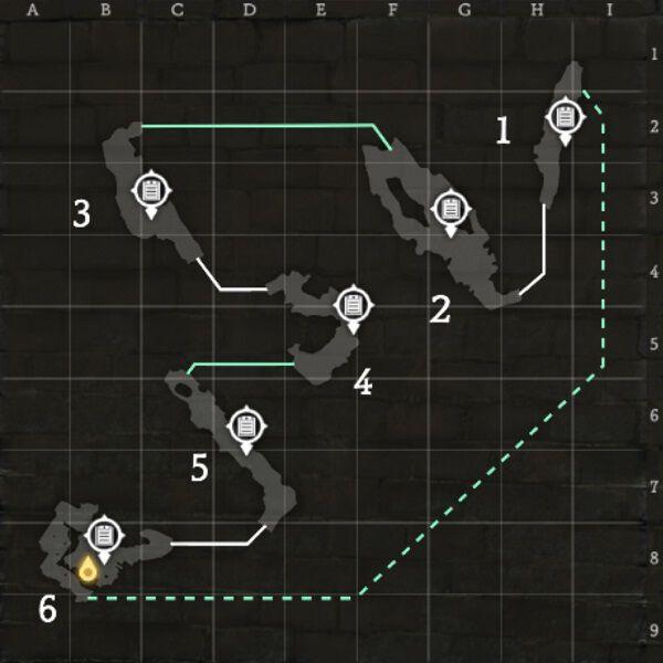 ブラウ平原のマップ