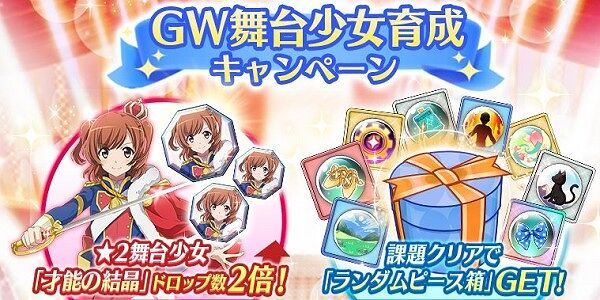 GW育成キャンペーン