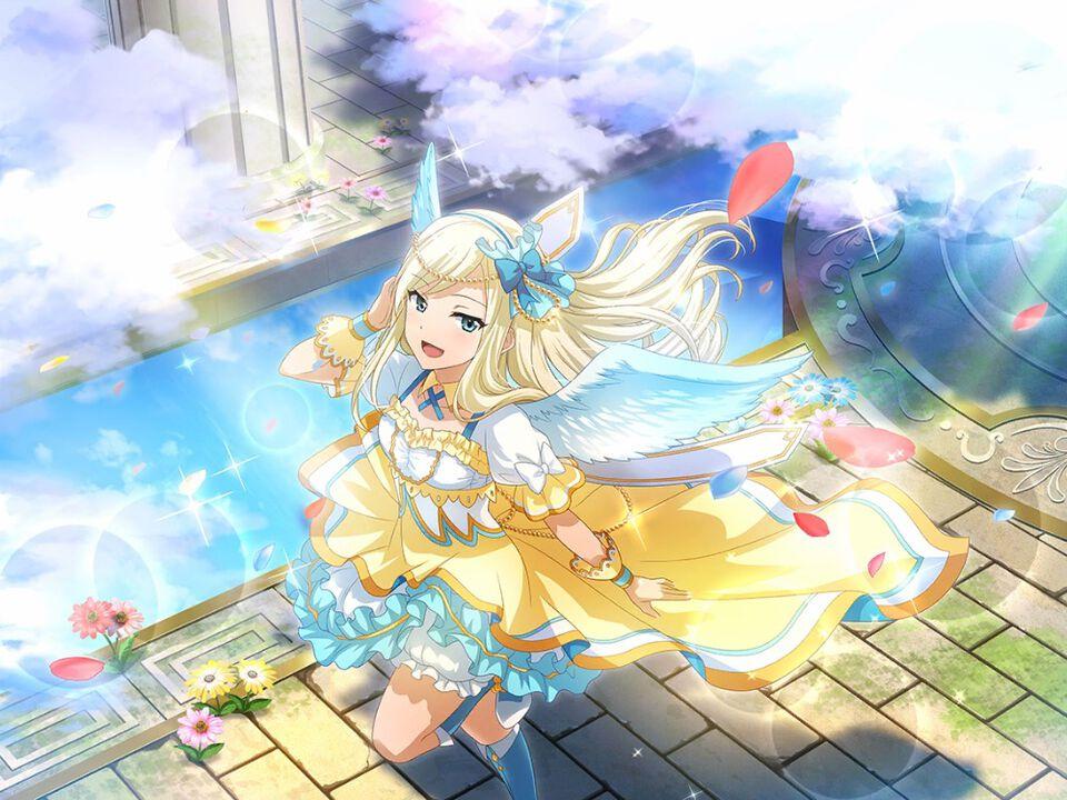 天使の祝福 夢大路文