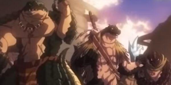 蜥蜴人の勇者たち