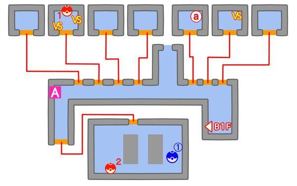 サント・アンヌ号のマップ1階