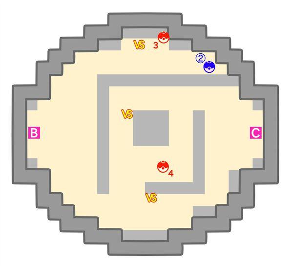 ポケモンタワーのマップ3階
