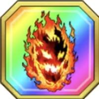 アトラスフレイムの炎