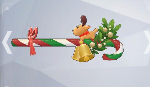 クリスマスステッキ