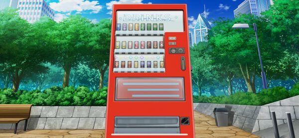 【例の】自動販売機