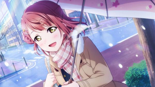 [……はい、私の傘に入って]上原歩夢