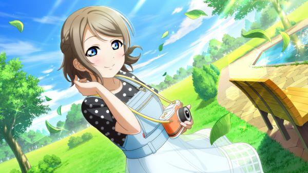 [ねえ、すっごく気持ちいい風だね]渡辺曜