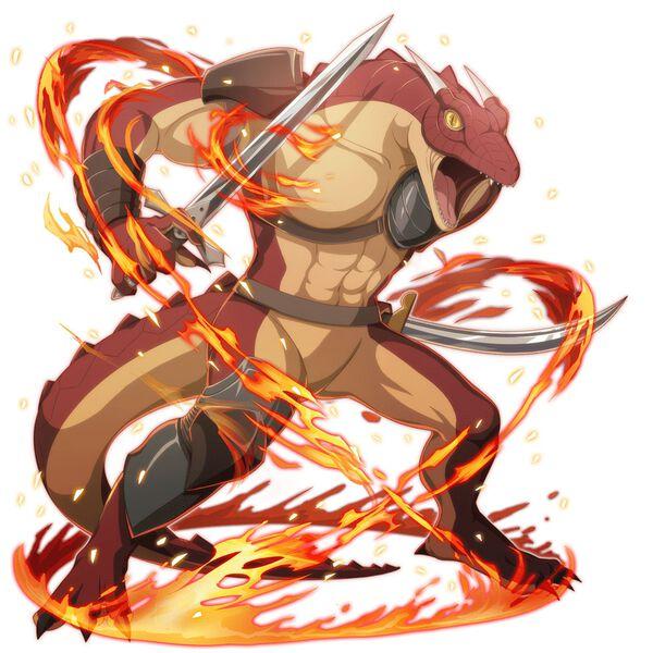 【異端の剣士】リド