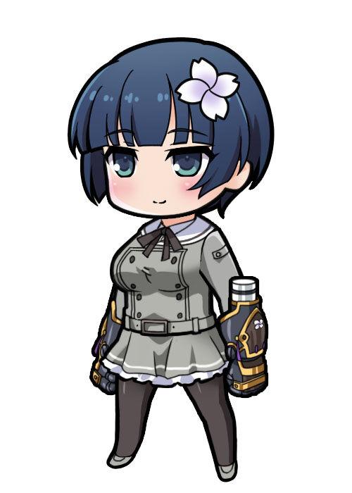 【月閃制服】夜桜
