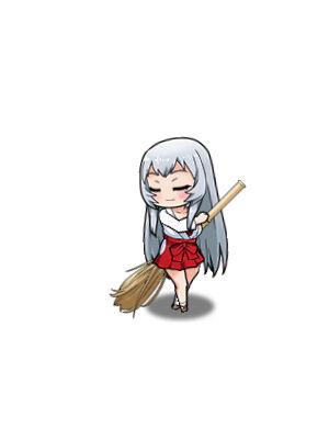 【清箒の巫女】趙雲子龍