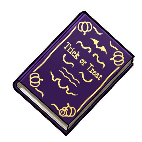 魔法の書(いたずら)